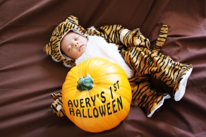 Baby's First Halloween Tiger